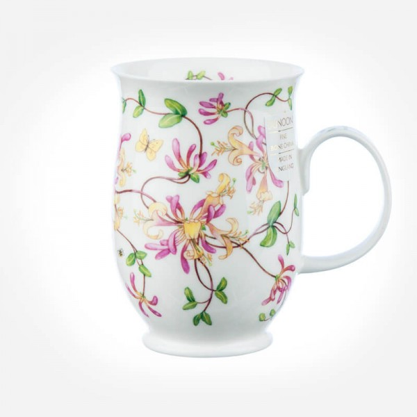 Dunoon Mugs Suffolk Entwined HONEYSUCKLE