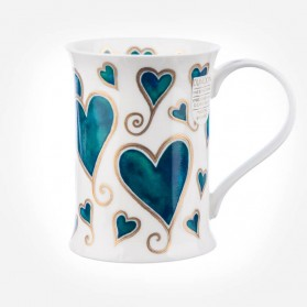 Dunoon Mugs Cotswold Romeo '14 Love hearts
