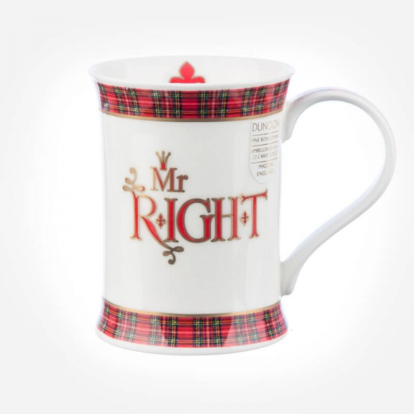 Dunoon Mugs Cotswold Mr Right