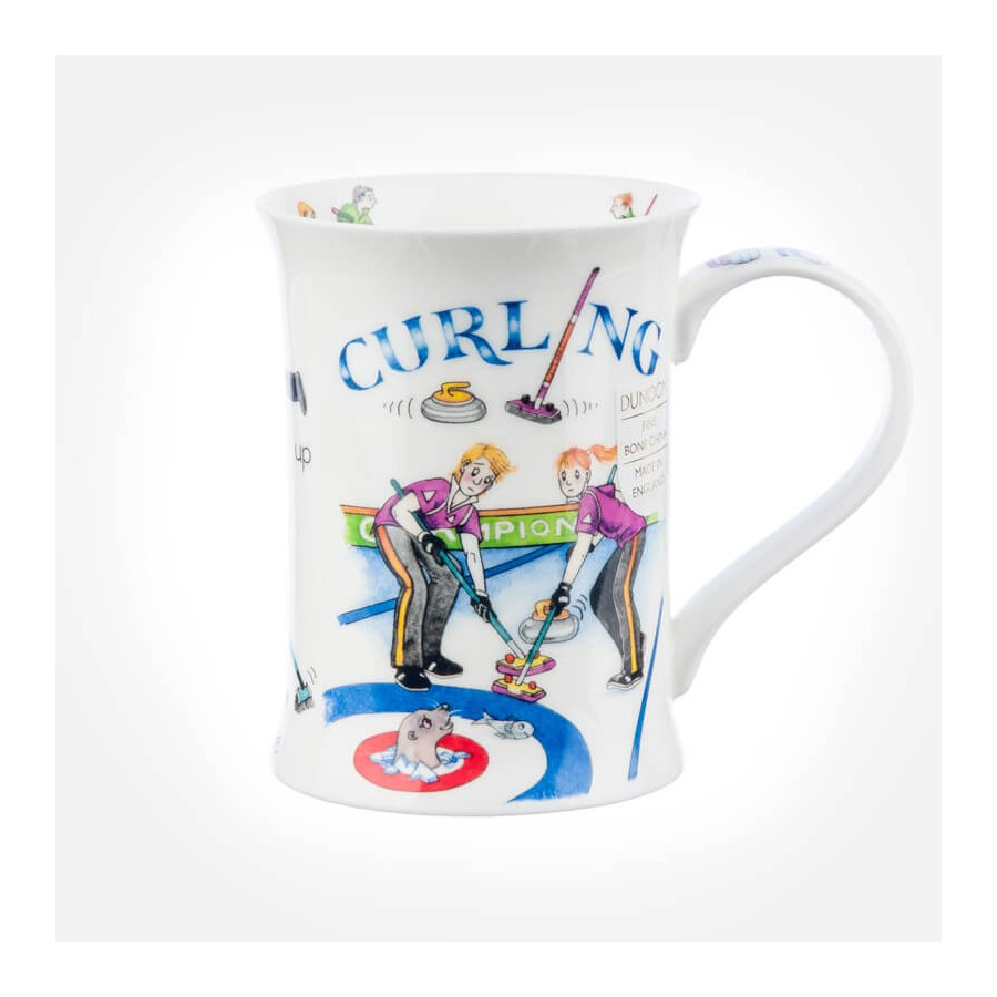 Dunoon Mugs Cotswold Curling