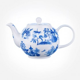 Dunoon Oriental Blue Small Teapot 0.75L Gift Box