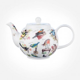 Dunoon BirdLife Small size Tea Pot Teapot 0.75L Gift Box