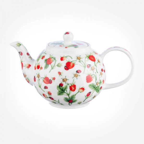 Dunoon Dovedale & Strawberry Small Tea Pot Teapot 0.75L Gift Box