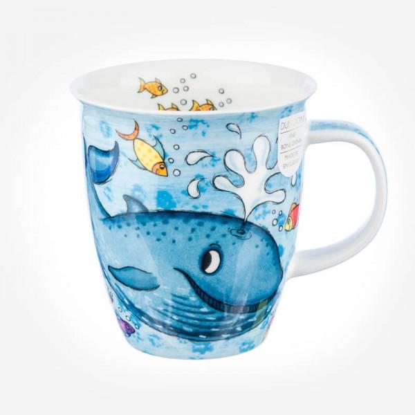 Dunoon Mugs Nevis Splash Whale