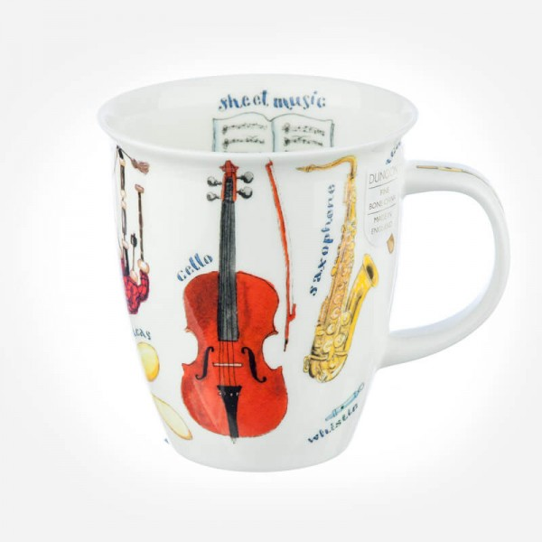 Dunoon Mugs Nevis Making Music Cello