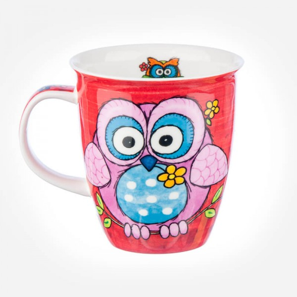 Dunoon Mugs Nevis country capers Owl