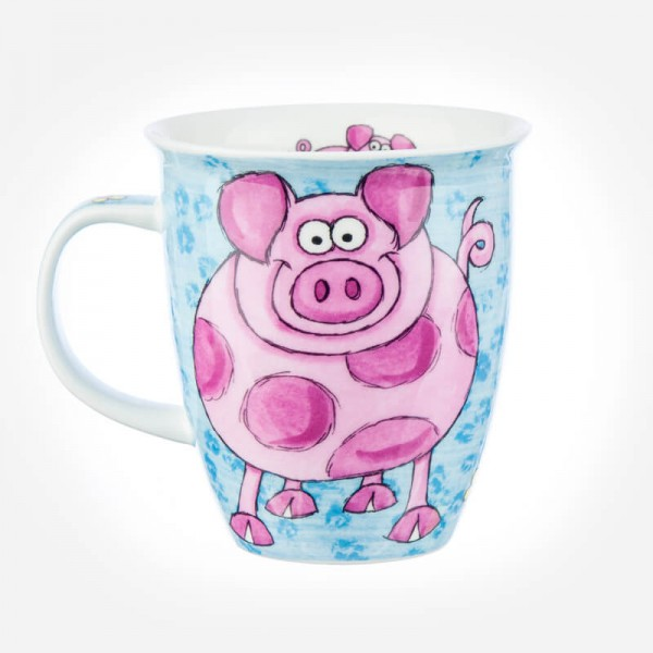 Dunoon Mugs Nevis Crazy Gang Pig