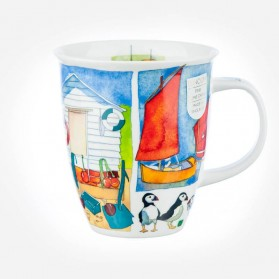 Dunoon Mugs Nevis Sea Breeze Puffins
