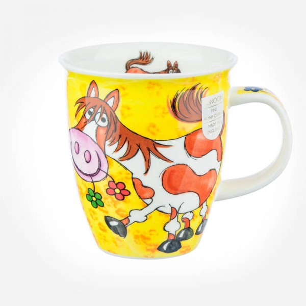 Dunoon Mugs Nevis country capers Horse