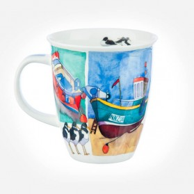 Dunoon Mugs Nevis Sea Breeze Deckchairs