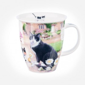 Dunoon Mugs Nevis Country Life Cat
