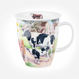 Dunoon Mugs Nevis Country Life Cow