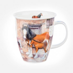 Dunoon Mugs Nevis Country Life horse