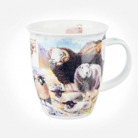 Dunoon Mugs Nevis Country Life Sheep