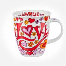Dunoon Mugs Nevis Language of Love Orange
