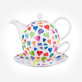Dunoon Warm Hearts Tea for One Gift Box Set