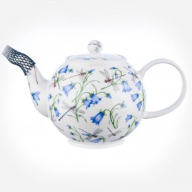 Dunoon Dovedale (Harebell) Large Size Tea Pot Teapot 1.2L Gift Box
