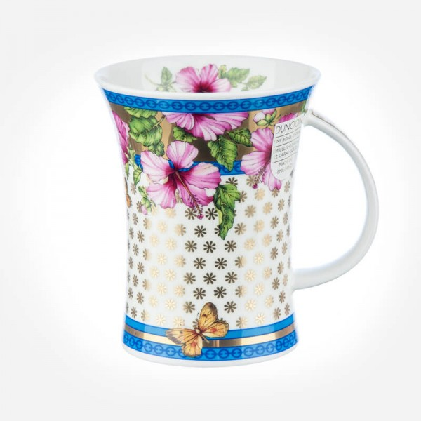 Dunoon Mugs Richmond Amalfi Hibiscus