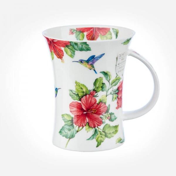 Dunoon Mugs Richmond Flora Bonita Hibiscus