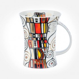 Dunoon Mugs Richmond Emotion Orange
