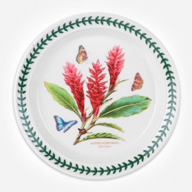 Exotic Botanic Garden 10 inch Plate Red Ginger
