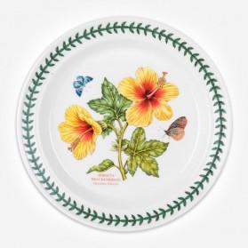 Exotic Botanic Garden 10 inch Plate Hawaiian Hibiscus