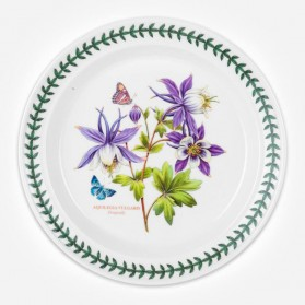 Exotic Botanic Garden 10 inch Plate Dragonfly