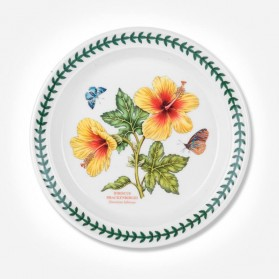 "Exotic Botanic Garden 8"" Plate Hawaiian Hibiscus"