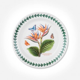 "Exotic Botanic Garden 6"" Plate Bird Of Paradise"