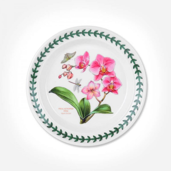 "Exotic Botanic Garden 6"" Plate Moth Orchid"