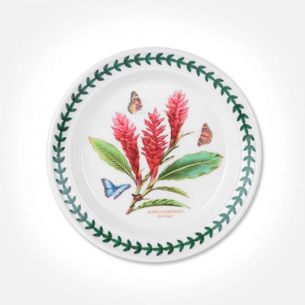 "Exotic Botanic Garden 6"" Plate Red Ginger"