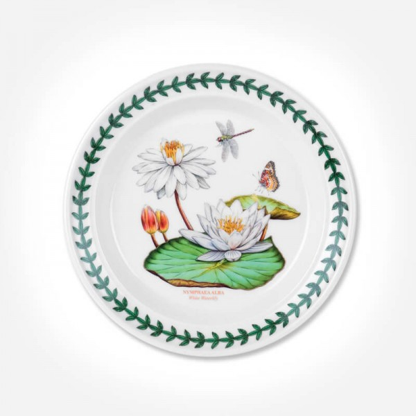 "Exotic Botanic Garden 6"" Plate White Waterlily"