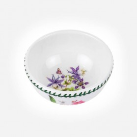 "Exotic Botanic Garden 5.5"" Fruit Salad Bowl Dragonfly"