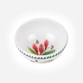 "Exotic Botanic Garden 5.5"" Fruit Salad bowl Red Ginger"