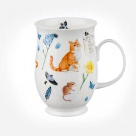 Dunoon Mugs Suffolk Garden Cats Ginger