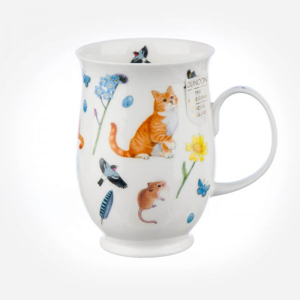 Dunoon Mugs Suffolk Garden Cats Ginger