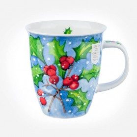Dunoon Mugs Nevis Winter Holly