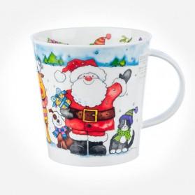 Dunoon mugs Cairngorm Santa's Friends Santa