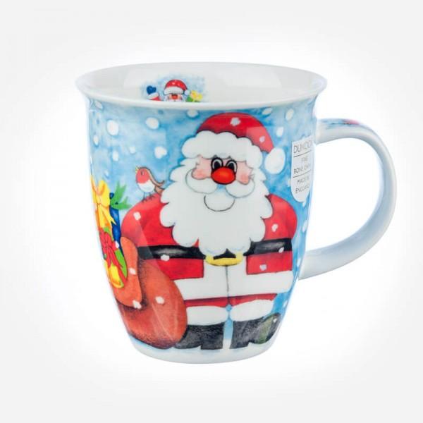 Dunoon Mugs Nevis Christmas Fun Santa