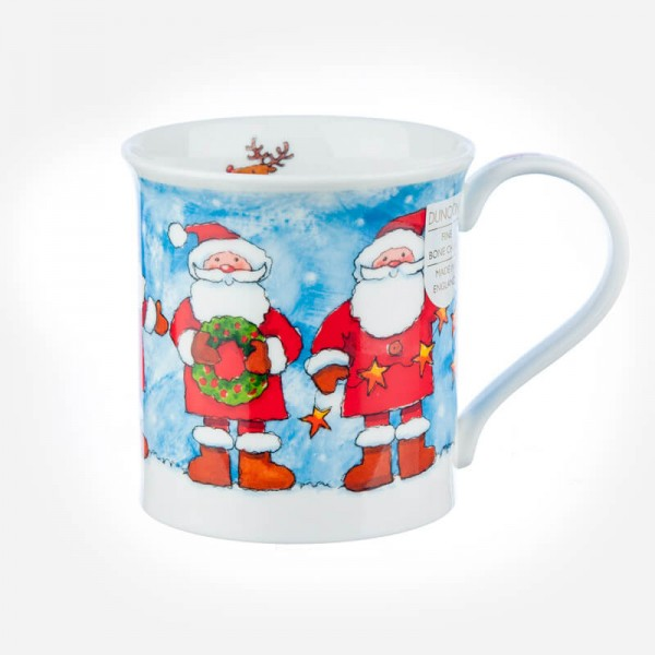 Dunoon Mugs Bute Christmas Chums Santa