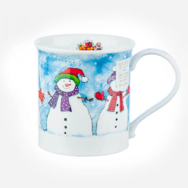 Dunoon Mugs Bute Christmas Chums snowman