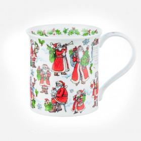 Dunoon Mugs Bute Snowy Santa