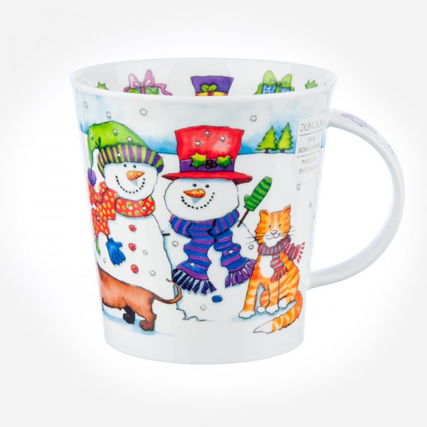Dunoon mugs Cairngorm Santa's Friends Snowman