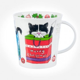 Dunoon mugs Cairngorm Christmas Cats