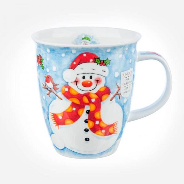 Dunoon Mugs Nevis Christmas Fun Snowman