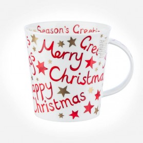 Dunoon Mugs Cairngorm Christmas Greetings