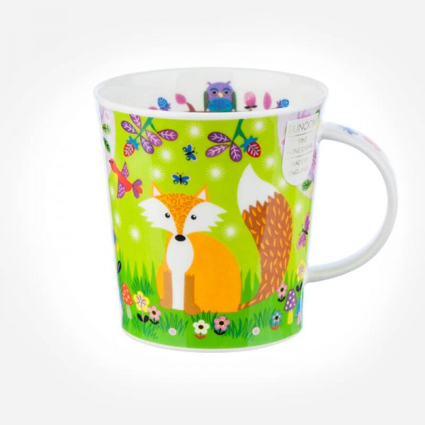 Dunoon Mugs Lomond Enchanted Wood Fox