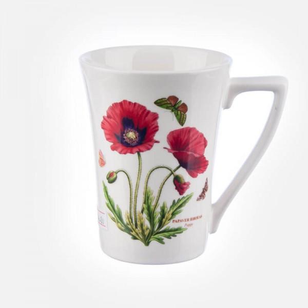 Botanic Garden Poppy Mug 0.28L
