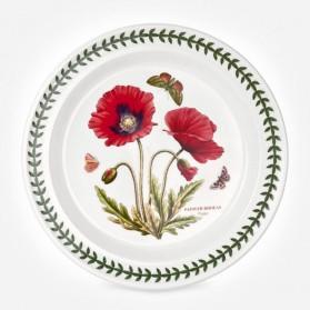 Botanic Garden 10 inch Dinner Plate Poppy