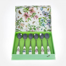 Portmeirion Botanic Garden Teaspoons Set of 6